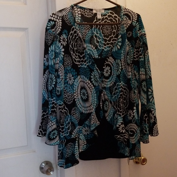 Dress Barn Tops - Blouse w/ layered, 2-piece look
